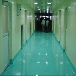 Epoxy Self Leveling Flooring