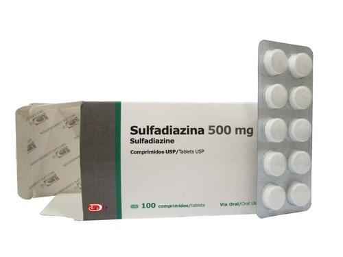 Sulfadiazine 500mg Tablet