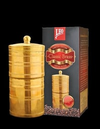 Leo Classic Brass Coffee Filter