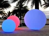 Color Changing Rechargeable Waterproof Outdoor LED Ball Light
