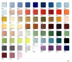 Mosaic Tiles Shade Card