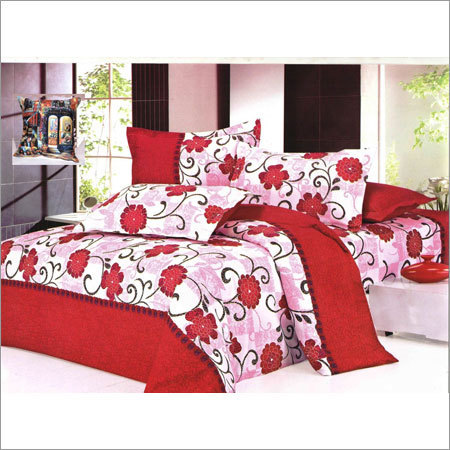 Printed Bed Sheets With Pillow Covers