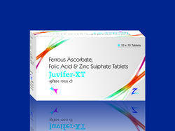 Ferrous Ascorbate Folic Acid And Zinc Sulphate Tablets In Chandigarh