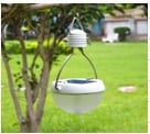 Solar Powered Led Lantern Tent Light Bulb