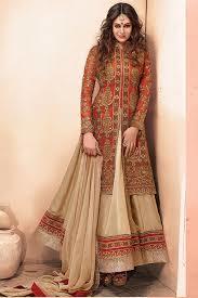 Silk Anarkali Suit