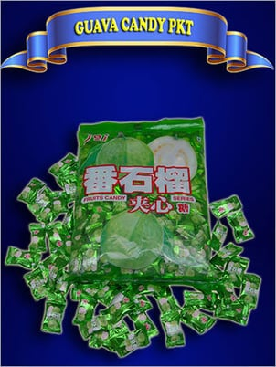 Sweet Guava Flavoured Candy