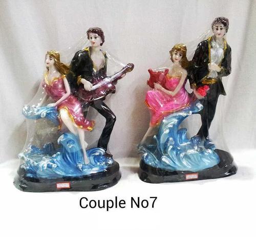 Couple No 7 Statue Idol Showpiece