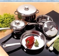 Cookware Set With Ss Knob And Handle