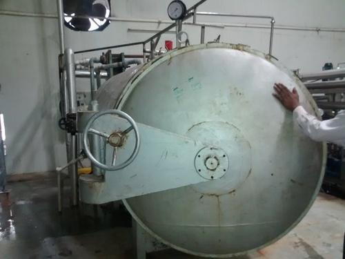 Steam Air Counter Pressure Retort