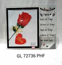 Gl 72736 Hinged Glass Photo Frame