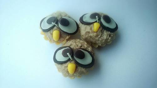 Cute Owl In Aromatic Tart Cupcakes Fancy Candle
