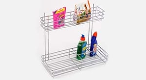 Detergent Rack With 2 Shelves