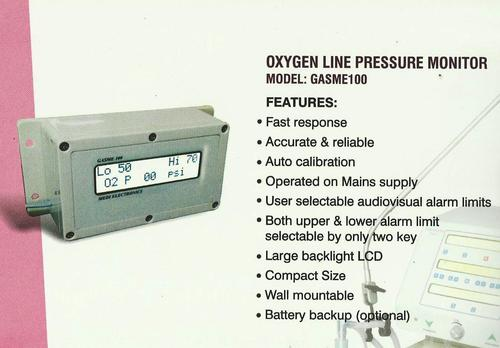 Oxygen Pressure Monitor