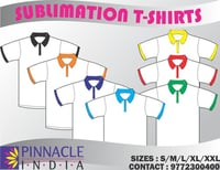Skin Friendly Promotional Sublimation T Shirts