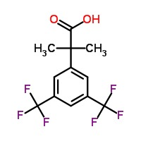 2-(3,5-Bis(Trifluoromethyl)Phenyl)-2-Methyl Propanoic Acid