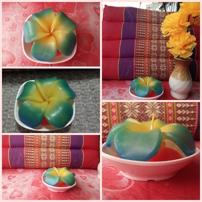 Melamine Cute Plumaria Scented Soy Candles
