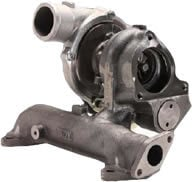 Turbocharger With Integrated Exhaust Manifold