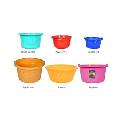 Basin and Plastic Tubs
