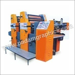 Two Colour Paper And Non Woven Bags Printing Machine