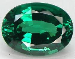 Loose Synthetic Faceted Emerald Quartz Crystal Stone