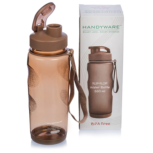 Handyware Flip Flop Water Bottle 550 ml