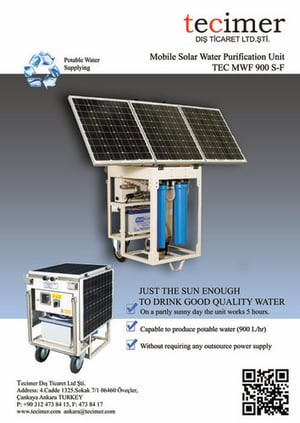 Mobile Solar Water Purifier
