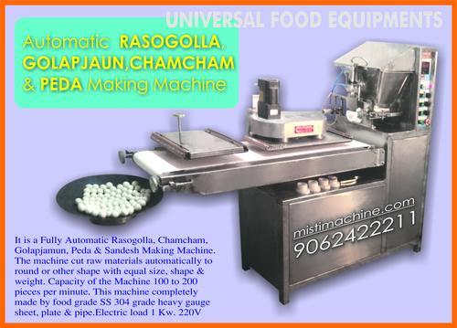Rasgulla Making Machines