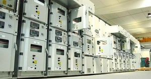 Air-Insulated Primary Switchgear With Feeder Terminals