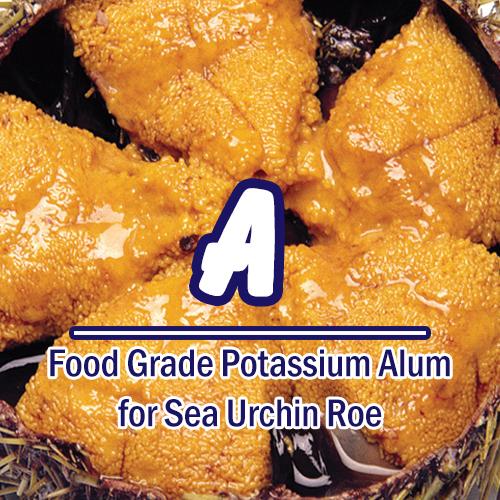 Food Grade Potassium Alum Flavours For Sea Urchin Roe