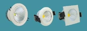 LED Recessed Mounted Spot Lights