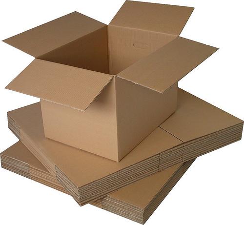 Square Corrugated Box