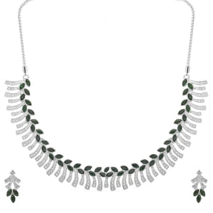 Silver Rodhium Plated Necklace