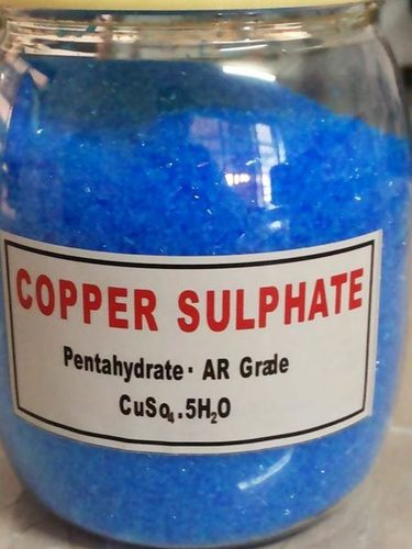 Copper Sulphate Pentahydrate (L.R.&A.R. &Acs Grade)