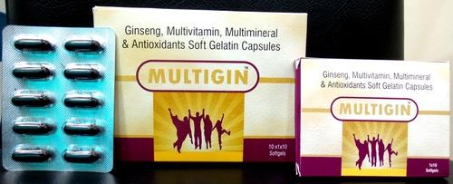 Multigin Multivitamin Capsules