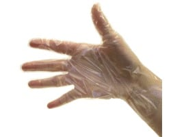 Surgical Disposable Poly Gloves