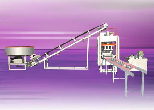Fully Automatic Bricks And Block Making Machine