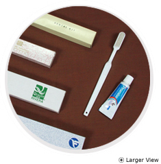Dental Kit (White Tooth Brush and Toothpaste 10gms)