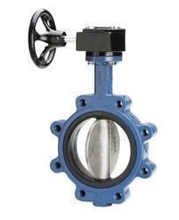 Butterfly Valve Gear Operated