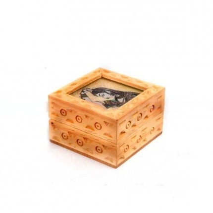 Gem Stone Painting Decorative Wooden Boxes In Chennai Tamil Nadu
