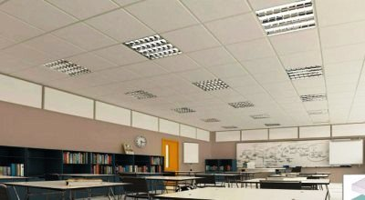 Gypsum Base Ceiling Tiles
