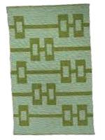 Green Cotton Rug
