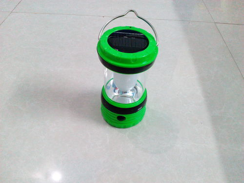 Portable Led Solar Rechargeable Lantern Lamp