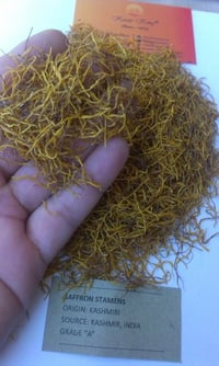 Saffron Stamens (Yellow Part)