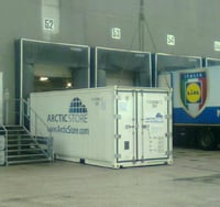 Portable Cold Storage Container Rental Solution