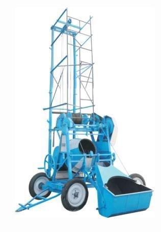 Tilting Concrete Mixer