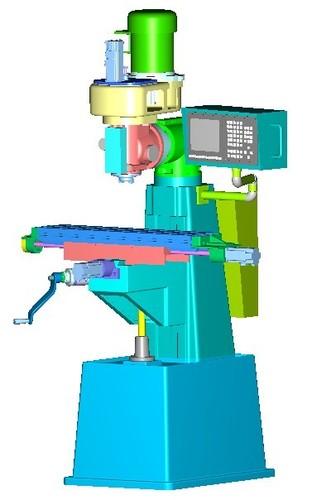 Taiwan Small nc Milling Machine