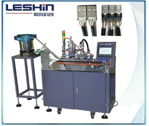 Automactic USB Wire Soldering Machine