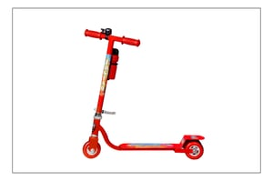 Junior Red Scooter