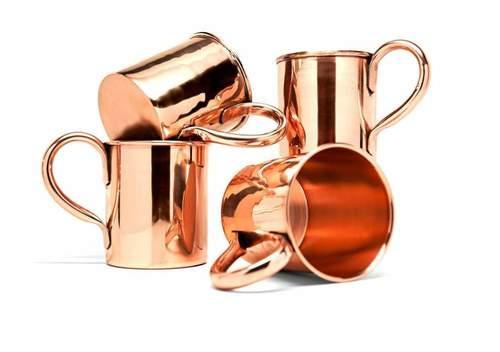 Copper Vodka Mug