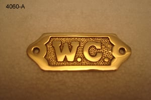 Brass Printed Plaques
